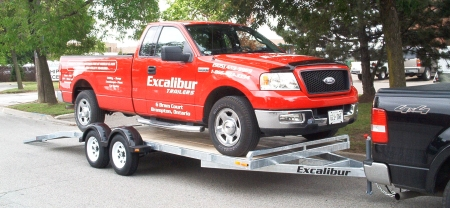 Excalibur Trailers - One-upsmanship at its best